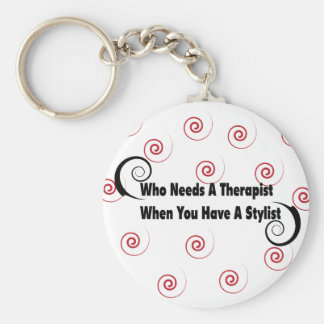 (who needs a therapist when you have a stylist keychain