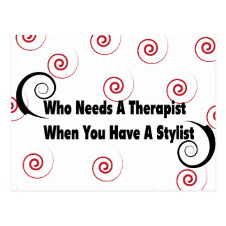 (who needs a therapist when you have a stylist postcards