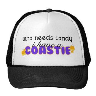 Who Needs Candy (Coastie) Trucker Hat