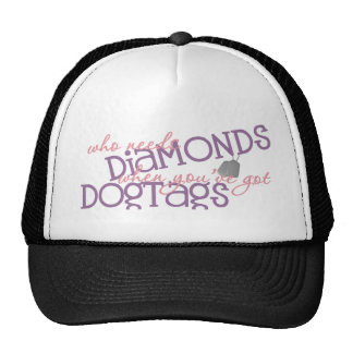 Who Needs Diamonds Trucker Hat
