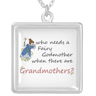 Who needs fairy Godmother, there are Grandmothers Personalized Necklace