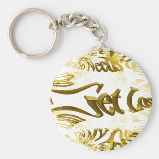 Who Needs GPS MAP FRACTAL TRACE Key Chain