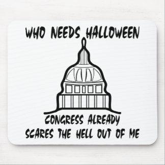 Who Needs Halloween Congress Already Scares Mouse Pad