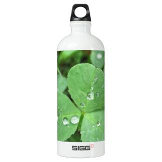 Who needs luck? aluminum water bottle