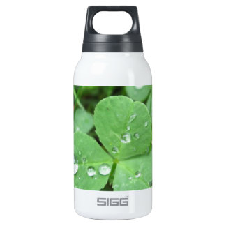 Who needs luck? thermos water bottle