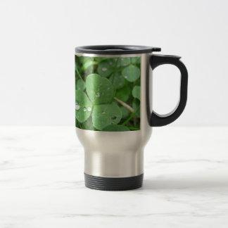Who needs luck? travel mug