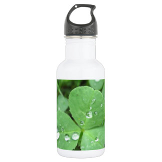 Who needs luck? water bottle