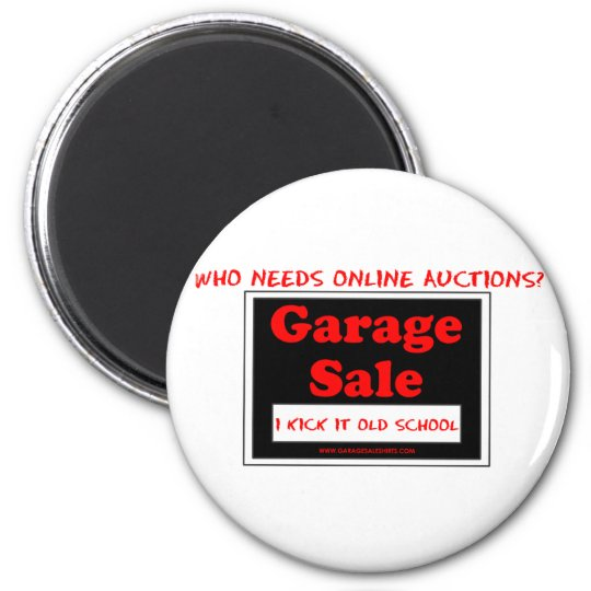Who Needs Online Auctions T Magnet