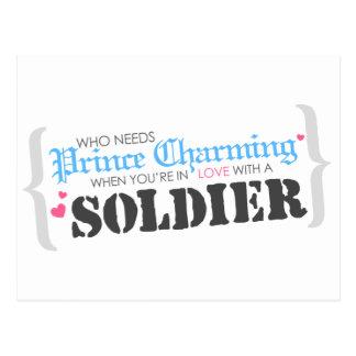 Who Needs Prince Charming? Postcard