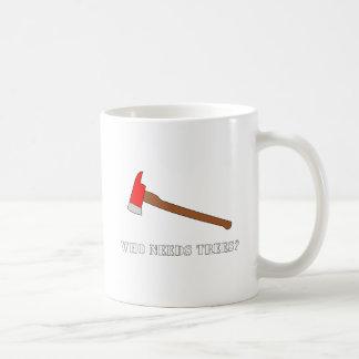 Who Needs Trees | Red Axe | Funny Coffee Mug