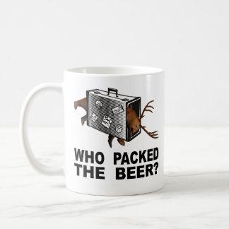 Who Packed The Beer? Coffee Mug