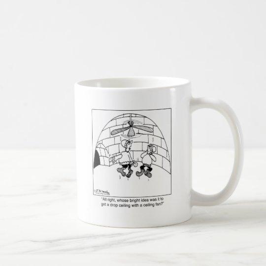 Who Put in the Ceiling Fan? Coffee Mug