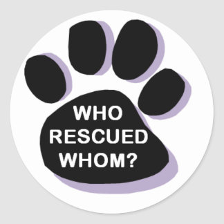 Who Rescued Whom? Sticker
