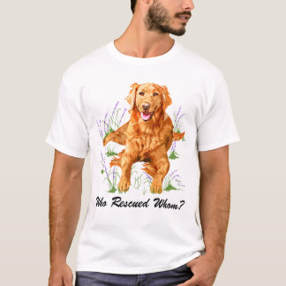 Who Rescued Whom? T-Shirt