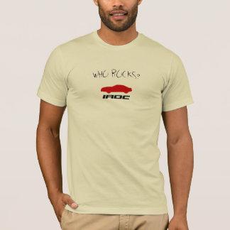Who Rocks? IROC T-Shirt