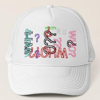 WHO??? RU Collector's Edition Baseball cap