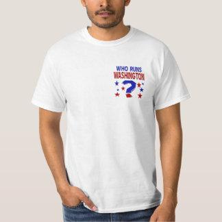Who Runs Washington Men's T-Shirt