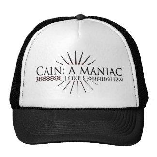 Who said Cain was a maniac? Trucker Hat