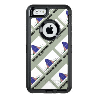 Who Said That I Was Normal? Bell Curve Stats Humor OtterBox Defender iPhone Case