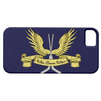 Who Saves Wins, Hockey Cell Phone Case iPhone 5 Covers