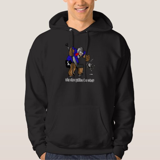 Who Says Goalies Are Crazy? Hoodie