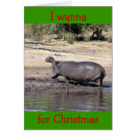 """WHO SAYS I'M HARD TO BUY FOR"" HUMOROUS CHRISTMAS CARDS"