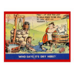 Who says it's dry here? Vintage Post Card