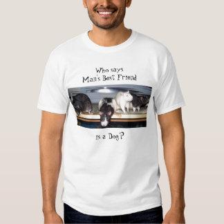 """Who Says"" Rat T-Shirt"