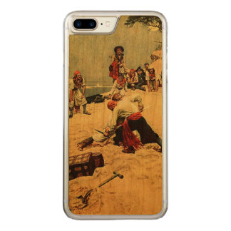 Who Shall Be Captain? pirate art Carved iPhone 7 Plus Case
