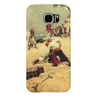 Who Shall Be Captain? pirate art Samsung Galaxy S6 Cases