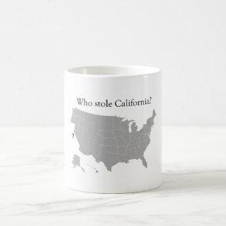 Who stole California Coffee Mug