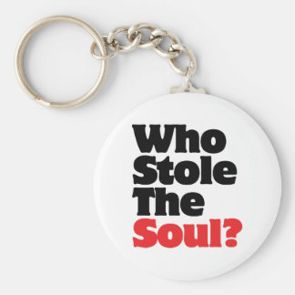 Who Stole The Soul? Keychain