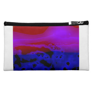 Who? Sueded Medium Cosmetic Bag
