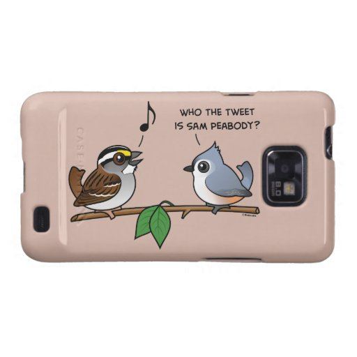 Who the Tweet? Galaxy SII Cases