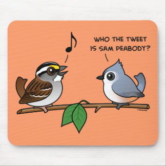 Who the Tweet Mouse Pads
