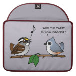 Who the Tweet? Sleeves For MacBook Pro