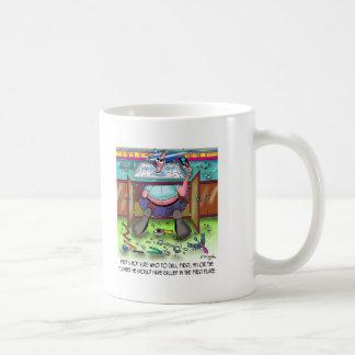 Who To Call 1st: 911 or a Plumber Coffee Mug