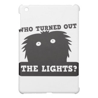 who turned out the lights? iPad mini cover