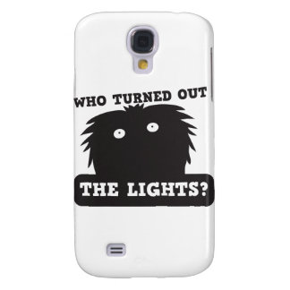 who turned out the lights? samsung s4 case