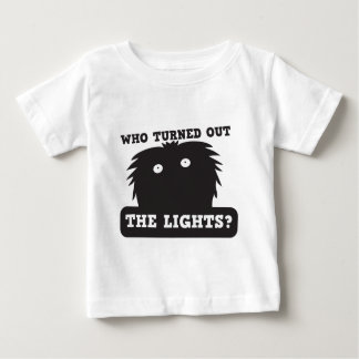 who turned out the lights? t-shirt