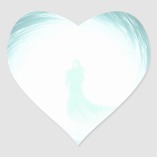 Who Waits for You Heart Sticker