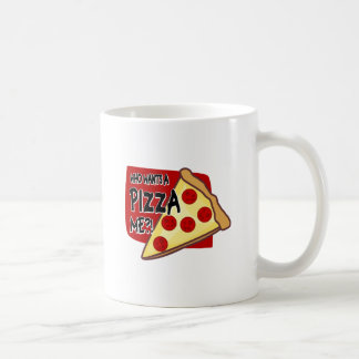 Who Wants A Pizza Me?! Classic White Coffee Mug