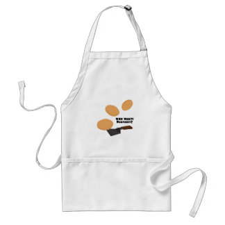 Who Wants Pancakes? Adult Apron