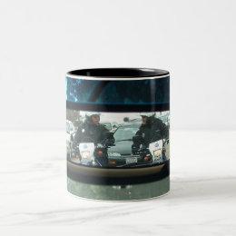 Who Wants To Be Bad Cop? Two-Tone Coffee Mug
