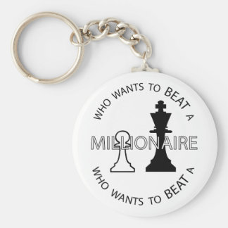 Who wants to beat a millionaire keychain