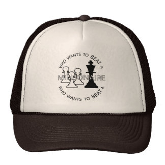 Who wants to beat a millionaire trucker hat