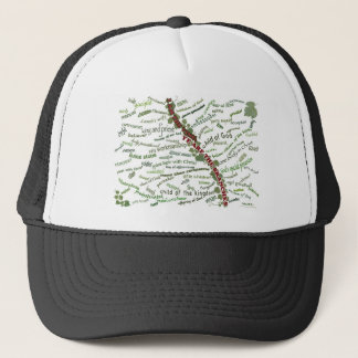 Who We Are in Christ - 85 names God gives to us Trucker Hat