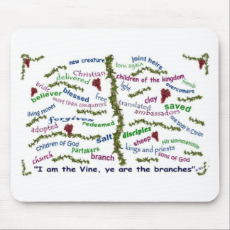 Who We Are in Christ Mouse Pad