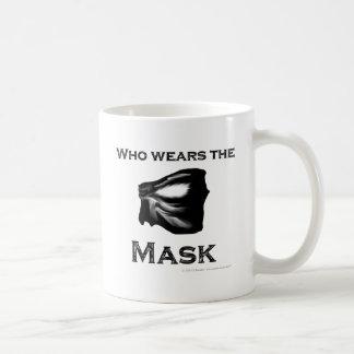 Who wears the Mask Coffee Mug