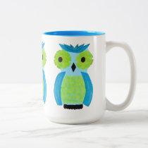 Who? Who? Colorful Owl Mug